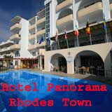 Panorama Hotel, Rhodes, Greece