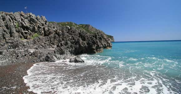 Beach Limnionas - Island Evia - Greece